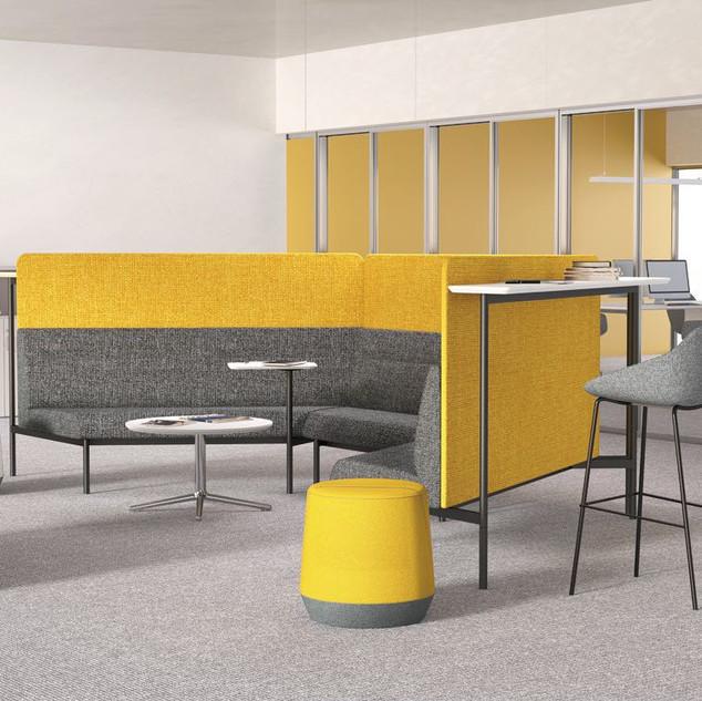 Balance Commercial | Santos Yellow High Back