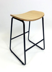 Balance Commercial   Como Stool Natural Low