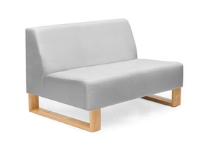 Slate Double Seater