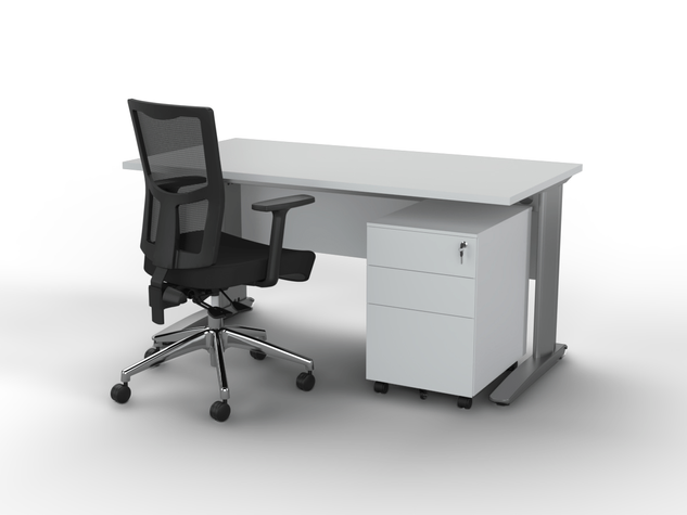 Balance Commercial | Air Fixed Height Sit-To-Stand Desk