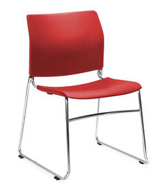 Balance Commercial   Reddy Red Chrome Sled