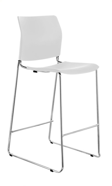 Balance Commercial | Reddy Chrome Sled Stool