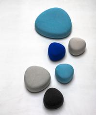 Balance Commercial   Pebbles Ottoman