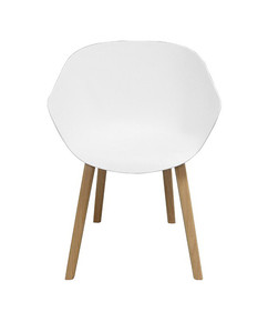 Balance Commercial | Peachy White Timber Legs