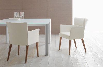Balance Commercial   Asher Duo w Timber Legs