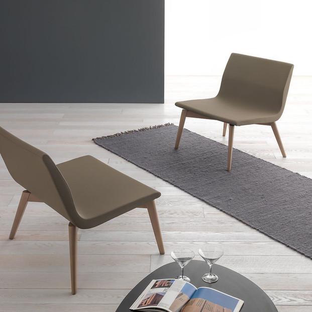 Balance Commercial | Carmel 4 Leg Upholstered