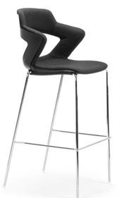 Balance Commercial   Zig Upholstered Stool