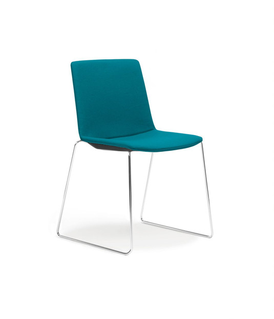 Balance Commercial   Elissa Sled Upholstered