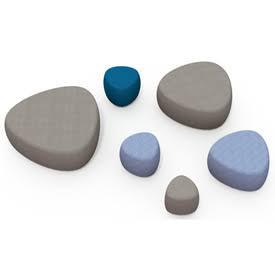 Balance Commercial | Pebbles Ottoman