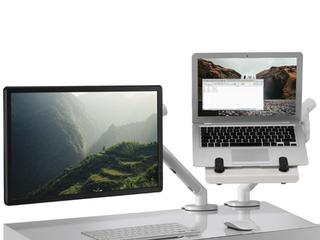 Laptop Mount White