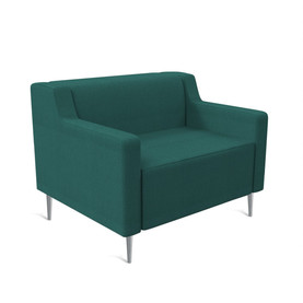 Tame Chrome 4 Leg 1 Seater