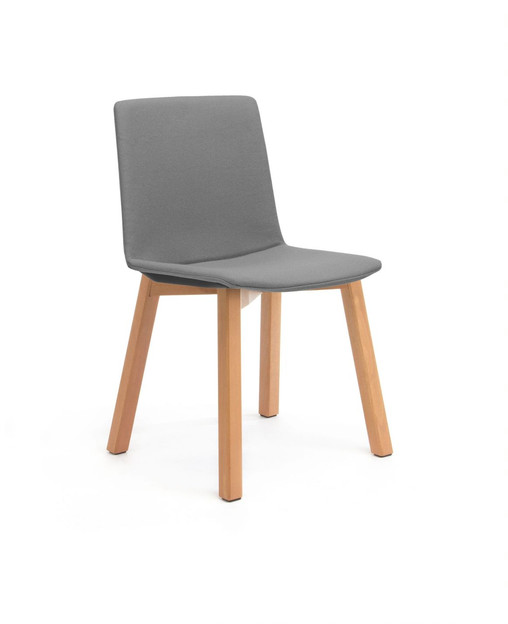 Balance Commercial   Elissa 4 Leg Timber Upholstered