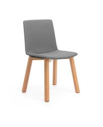 Balance Commercial | Elissa 4 Leg Timber Upholstered