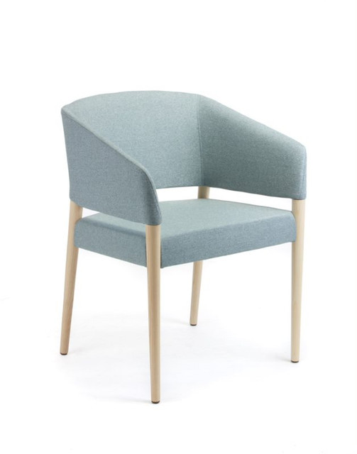 Balance Commercial | Macey Timber Legs Upholstered