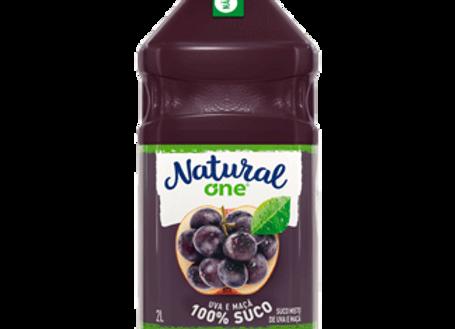 Suco de Uva e Maçã Natural One - 2L