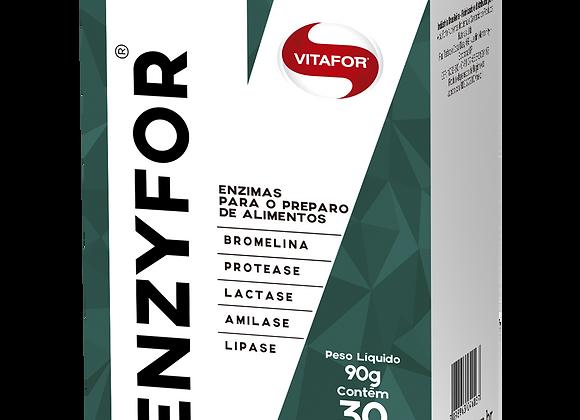 Enzima Digestia Enzyfor Vitafor - 30 Sachês de 3g