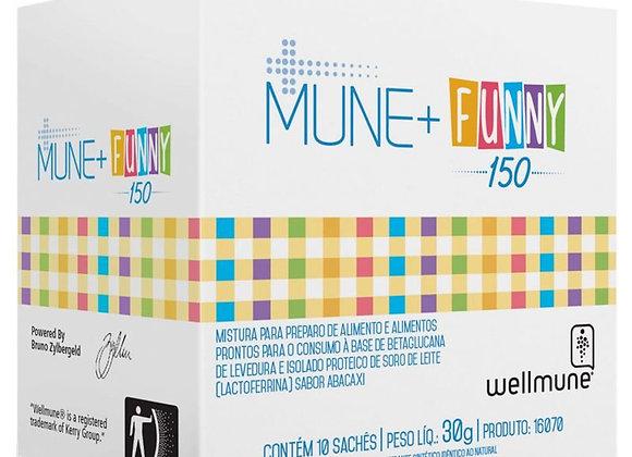 Mune+ Funny 150 Chá para Imunidade Infantil - 10 Sachês
