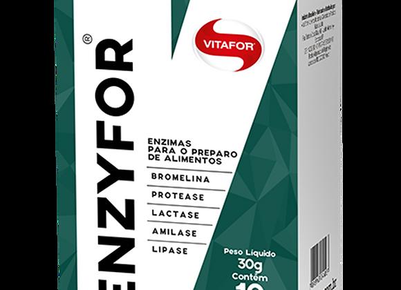 Enzima Digestia Enzyfor Vitafor - 10 Sachês de 3g