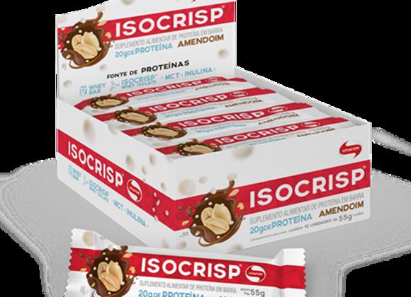 Isocrips Barra de Proteína sabor Amendoim - 55g Unidade