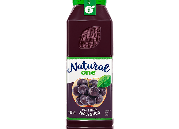 Suco de Uva e Maça Natural One - 900 ml