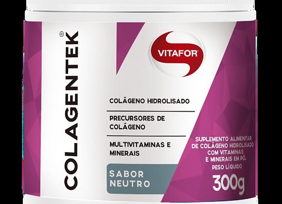 Colágeno Hidrolisado Colagentek Vitafor sabor Neutro - 300g