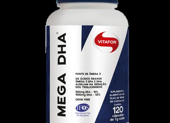 Mega DHA Vitafor - 120 Cápsulas