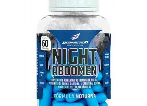 Nigth Abdomen (queima gordura durante o sono) Body Action - 60 Cápsulas