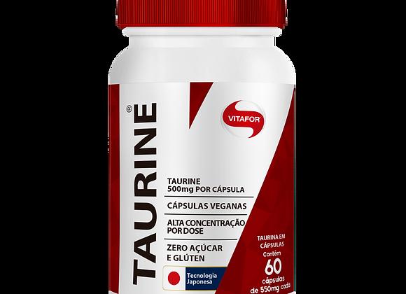 Taurine Vitafor - 60 Cápsulas 550mg cada
