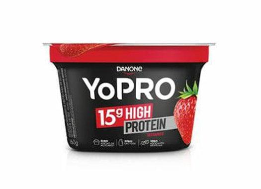 Iogurte de Morango YoPro Danone - 250g