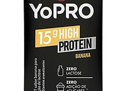 Bebida Láctea YoPro sabor Banana - 250ml
