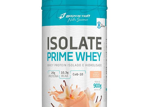 Isolate Prime Whey Isolado e Hidrolisado BodyAction sabor Baunilha - 900g