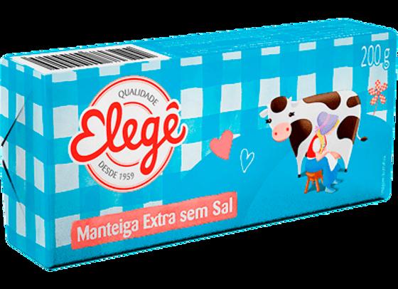 Manteiga Extra S/Sal Elegê - 200g