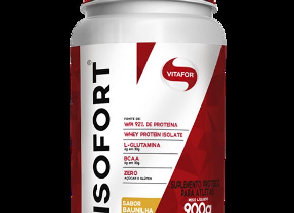 Whey Protein Isolado Isofort Vitafor sabor Baunilha   - 900g
