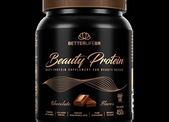 Whey Beauty Protein Isolado Hidrolisado Chocolate Better Life - 450g