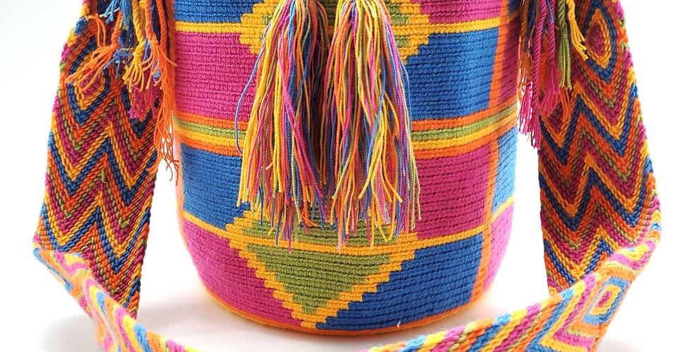 Boho Wayuu Bag Soleil