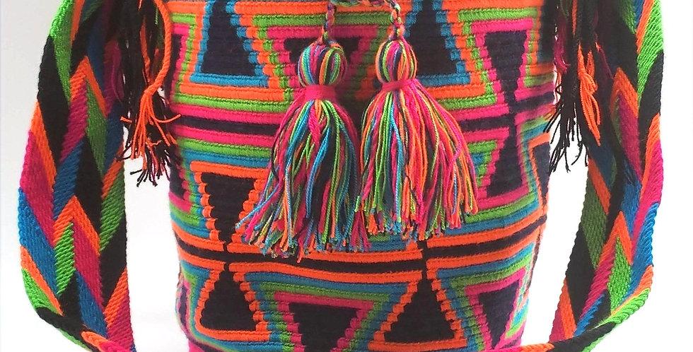 Boho Wayuu Bag - Ximena