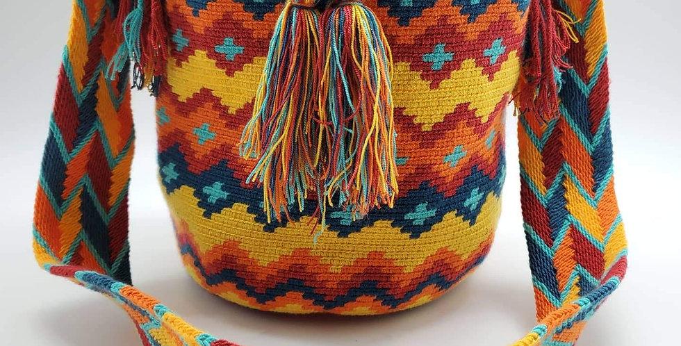 Boho Wayuu Bag Seraphina