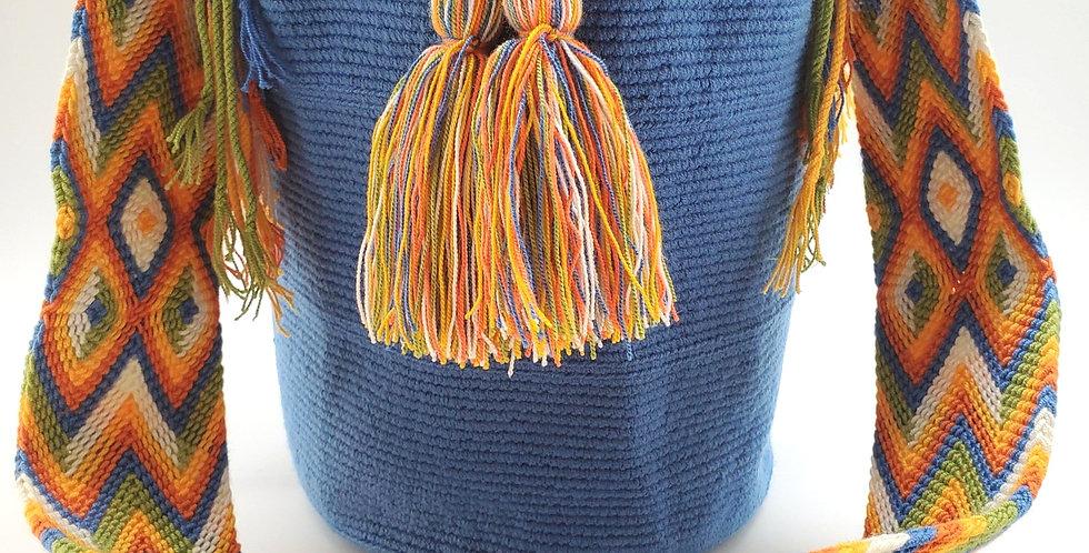 Boho Wayuu Bag Celeste