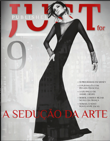 capa revista just for