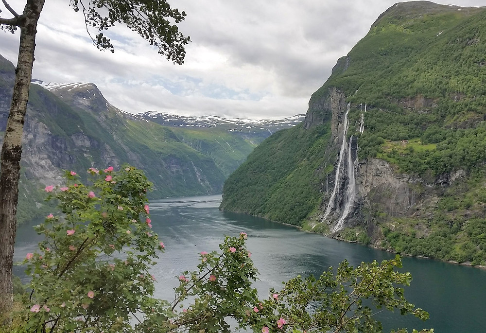 Geirangerfjord in Western Norway is a must-see on a road trip