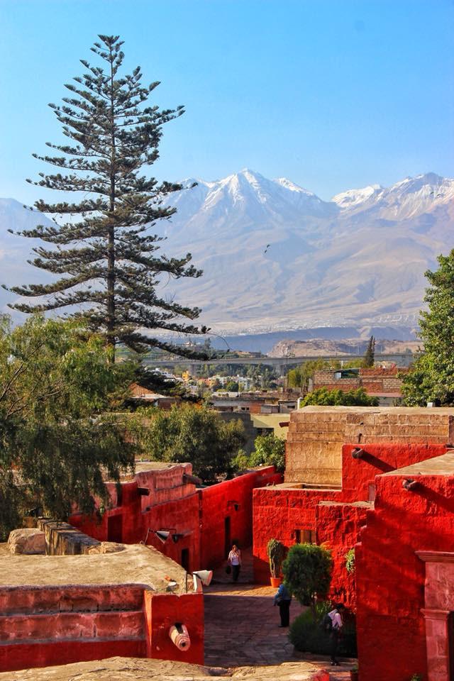 travel to Arequipa in Peru