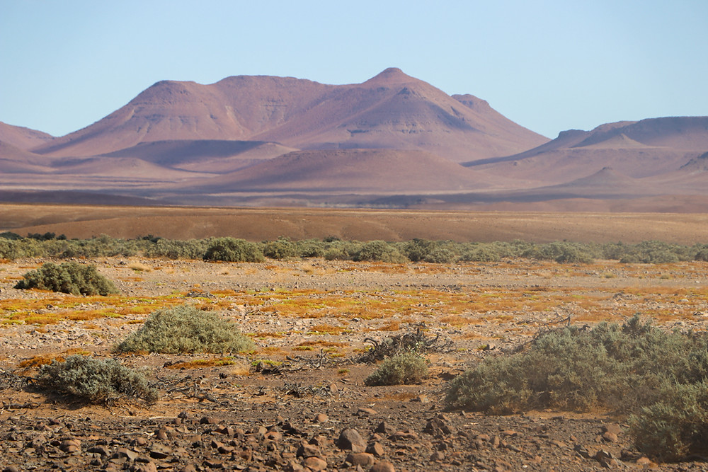 Driving through Damaraland is a highlight of Namibia