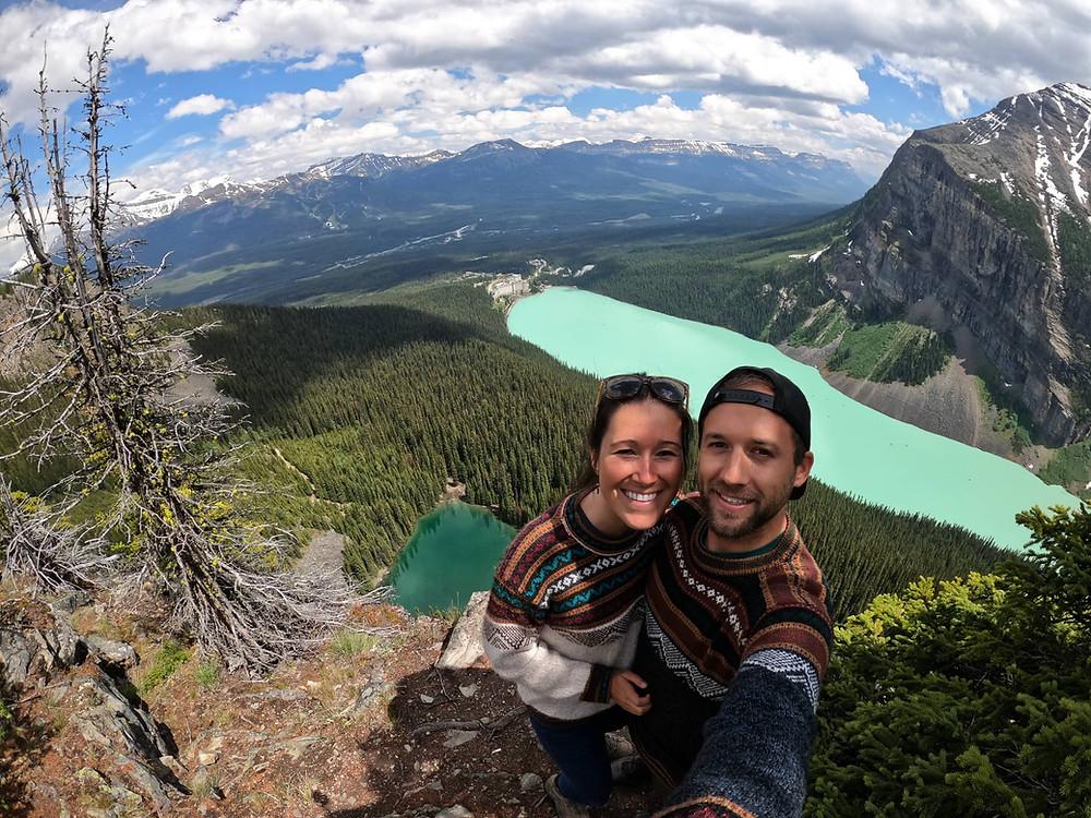 Big Beehive Lake Louise best hike