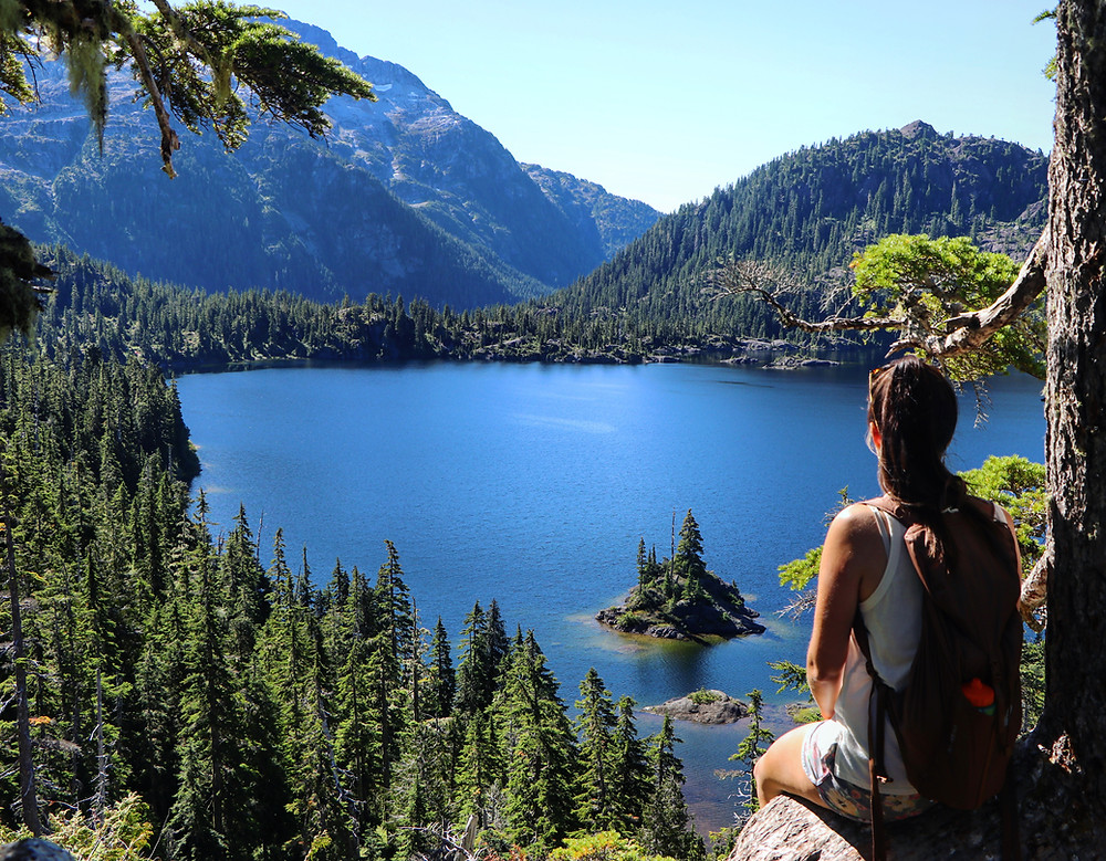 Bedwell Lake is a great hike in Strathcona Park, Vancouver Island