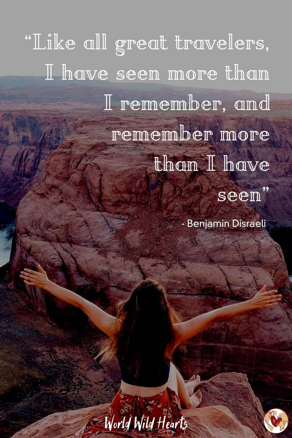 Famous quote on travel for your wanderlust