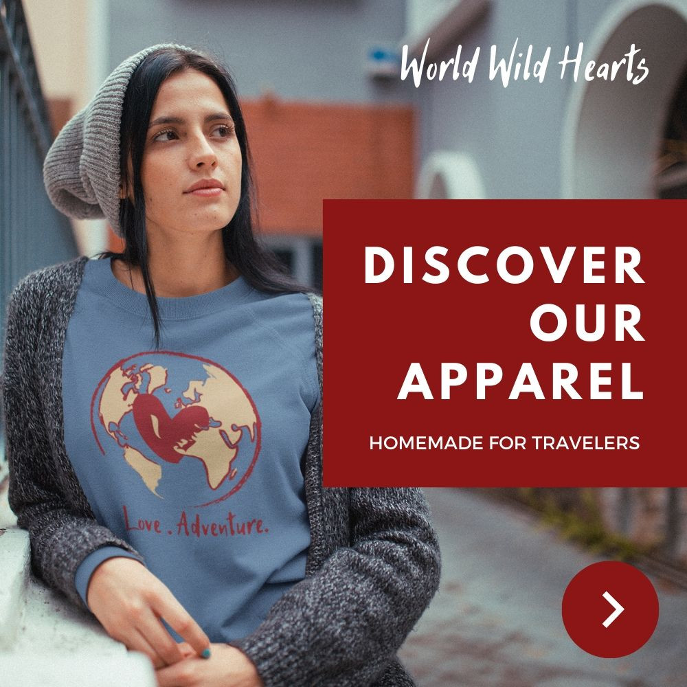 Travel apparel inspired by trips