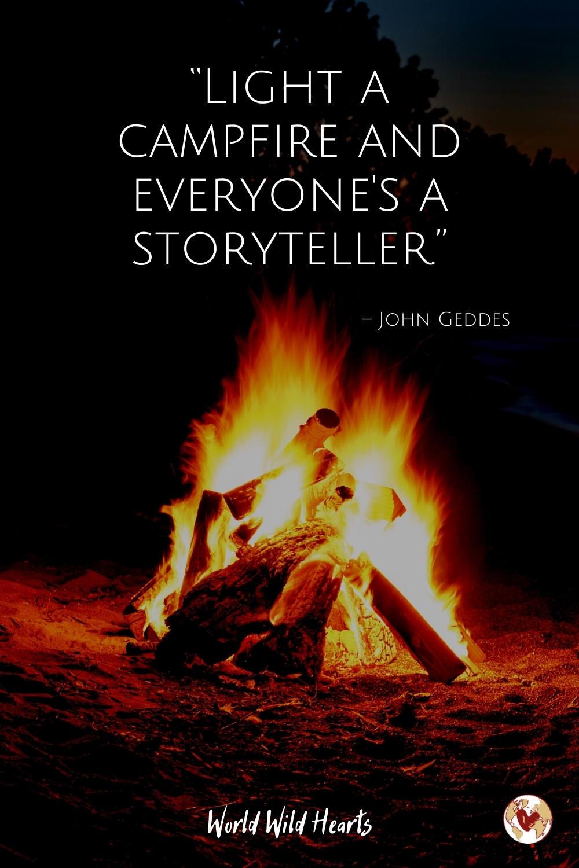 Camping adventure quote