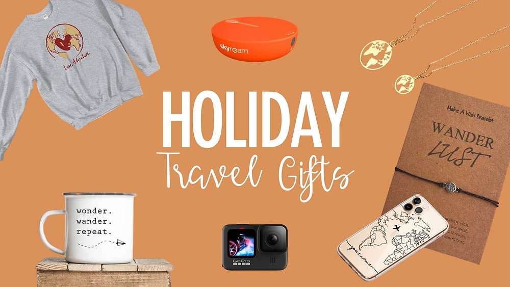 Holiday gift guide for travelers 2020