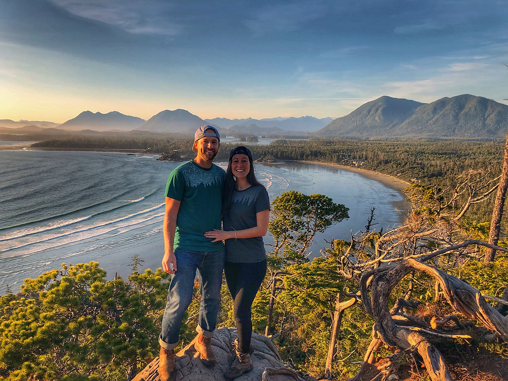Watching the sunset from the cox bay lookout is one of the top things to do in tofino