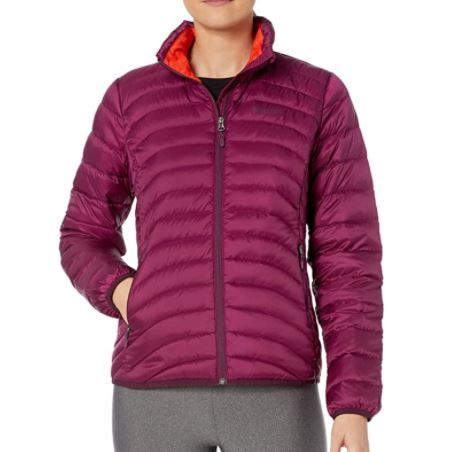down jacket for hiking in winter